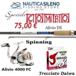 COMBO Alivio + Trecciato Daiwa