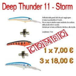 Combo 3 Artificiali Deep Thunder 11 - Storm