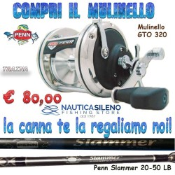 Mulinello GTO 320 Penn in Regalo la Canna