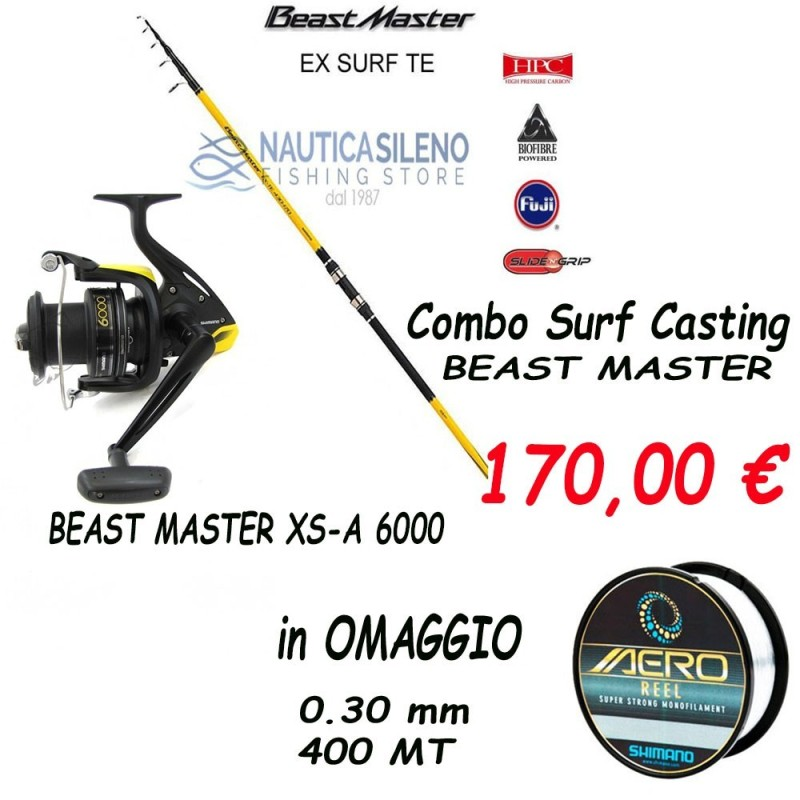 Combo Canna+Mulinello Beast Master