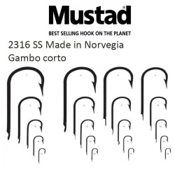 Ami Mustad 2316 SS Made in Norvegia