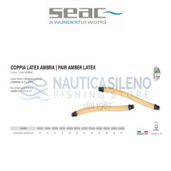 Coppia elastici Latex Ambra