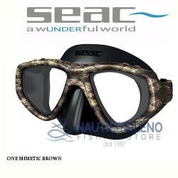Maschera One Mimetic Brown - Seac Sub