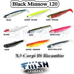 Black Minnow  120 n°3  - Corpi di ricambio