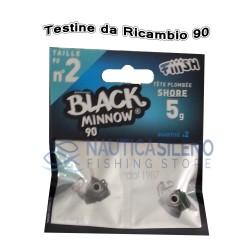 Testine da Ricambio Black Minnow