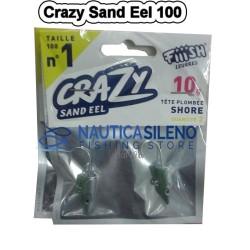 Testine Crazy Sand Eel 100